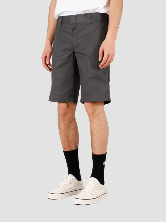 Dickies Slim Stgt Work Short Charcoal Grey DKWE273XCH01