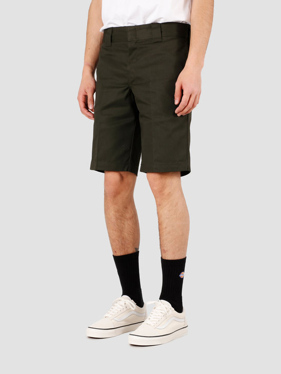 Dickies Slim Stgt Work Short Olive Green DKWE273XOGX1