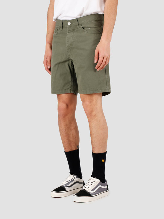 Carhartt WIP Newel Short Dollar Green Garment Dyed I027952-667GD