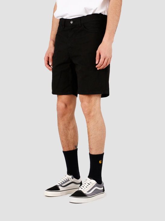 Carhartt WIP Newel Short Black Garment Dyed I027952-89GD