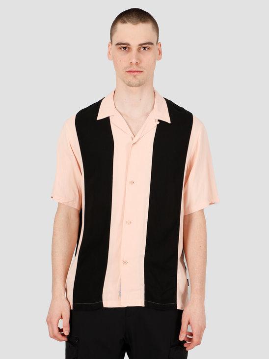 Carhartt WIP Lane Short Sleeve Shirt Powdery Black I027508-08T90