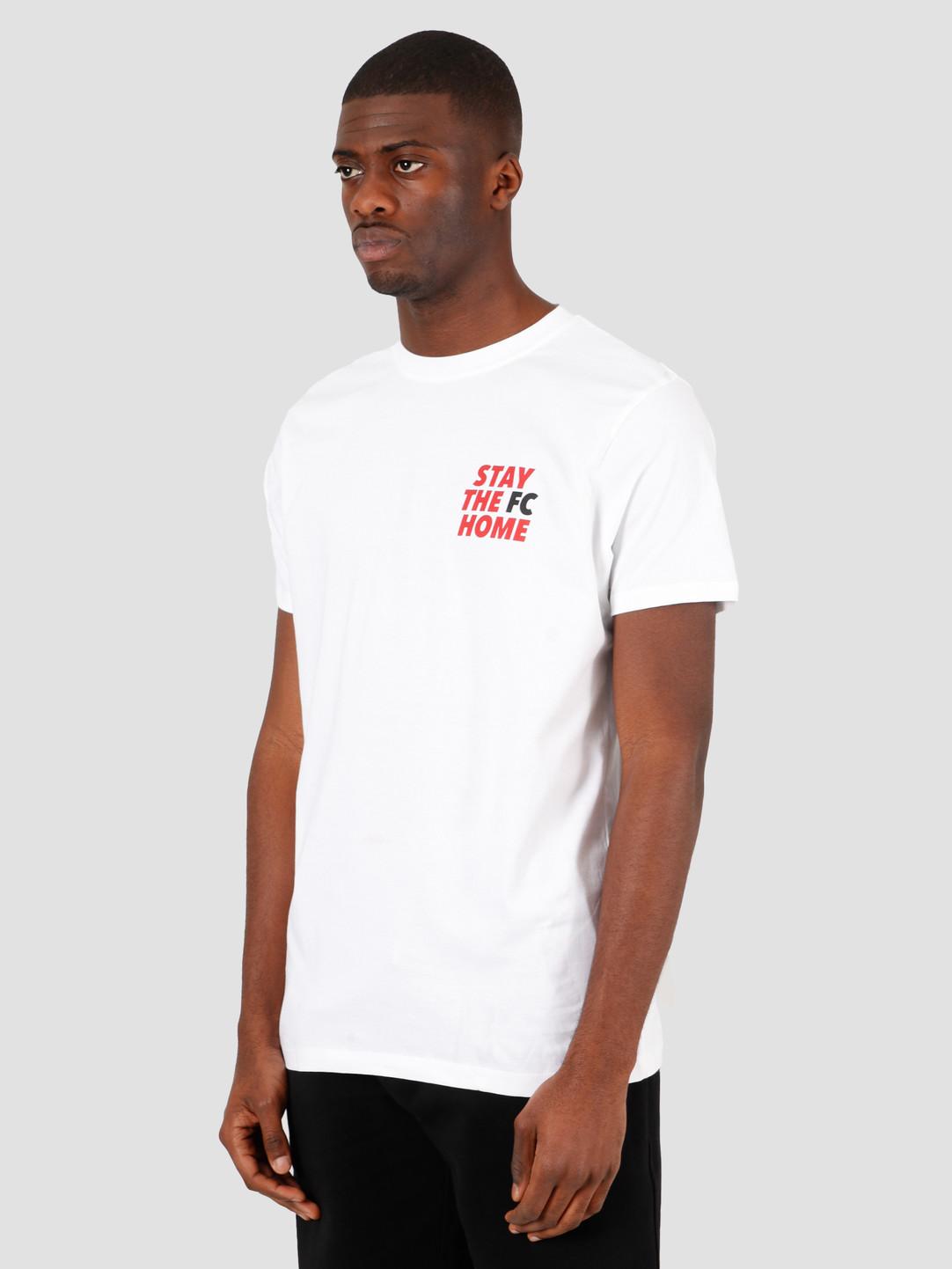 FRESHCOTTON FreshCotton Stay The FC Home T-Shirt White