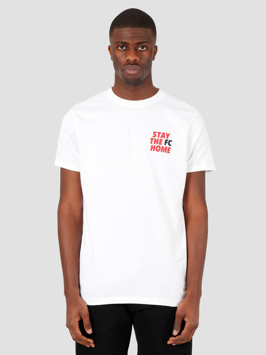 FreshCotton Stay The FC Home T-Shirt White