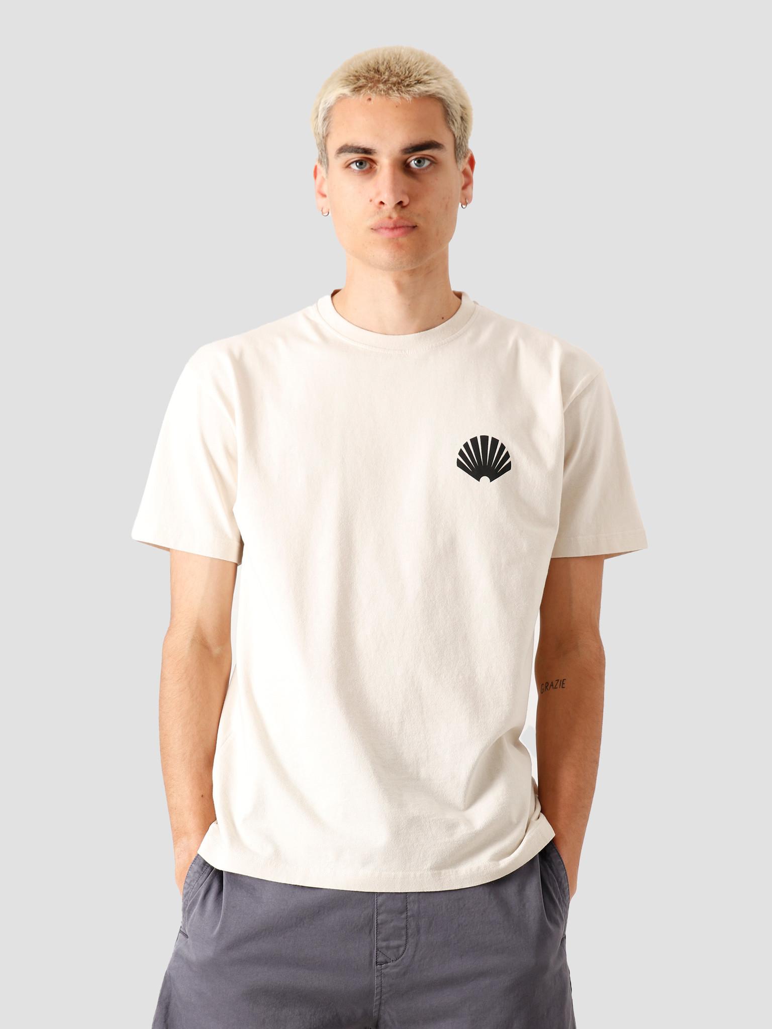 New Amsterdam Surf association New Amsterdam Surf association Logo T-Shirt Off White 2020001