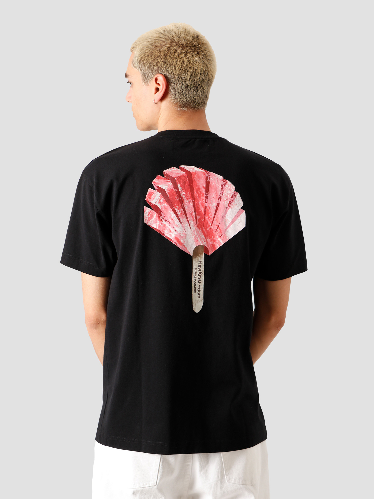 New Amsterdam Surf association New Amsterdam Surf association Ice T-Shirt Black 2020010