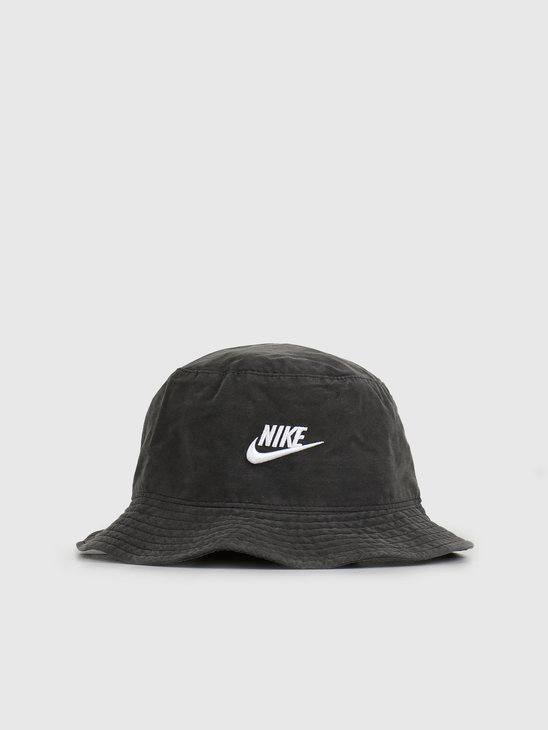 Nike NSW Bucket Hat Washed Black CU6345-010