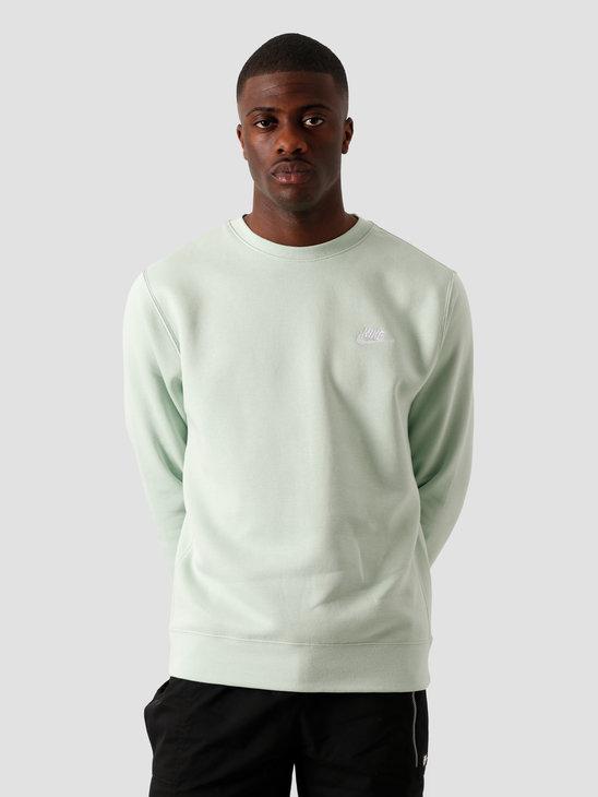 Nike NSW Club Crew Sweater BB Pistachio Frost White BV2662-321
