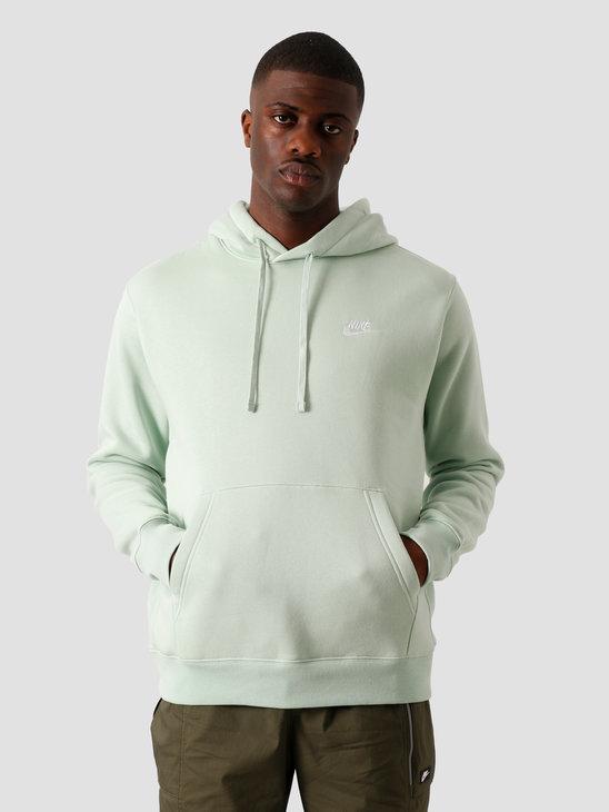 Nike NSW Club Hoodie BB Pistachio Frost Pistachio Frost White BV2654-321