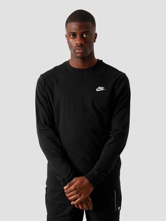 Nike Sportswear Longsleeve Black White Ar5193-010