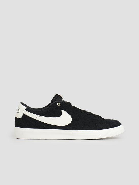 Nike SB Blazer Low Gt Skateboarding Shoe Black Sail 704939-001