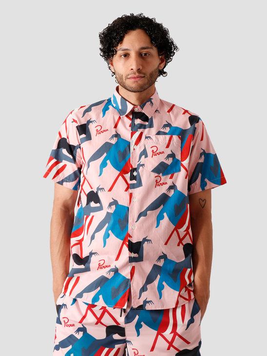 by Parra Madame Beach Shirt Pink 43920