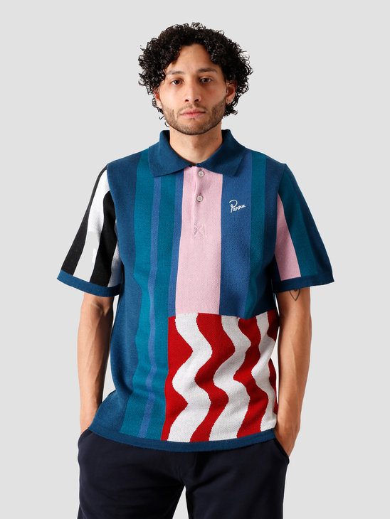 by Parra Wavy Polo Shirt Multi 43900