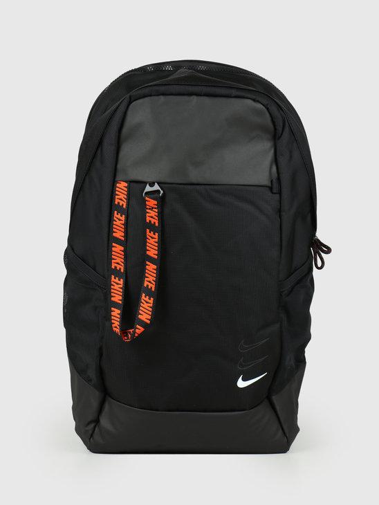 Nike NSW Essentials Backpack Black Black White BA6143-010