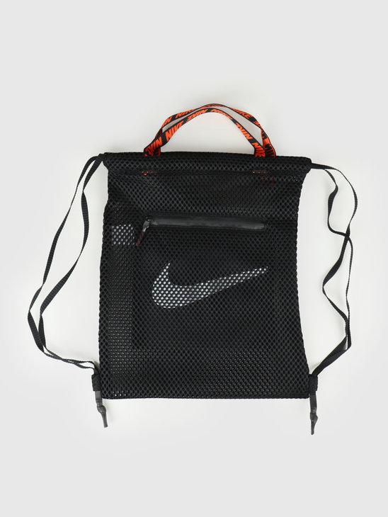 Nike NSW Essentials Gymsack Black Black White BA6146-010