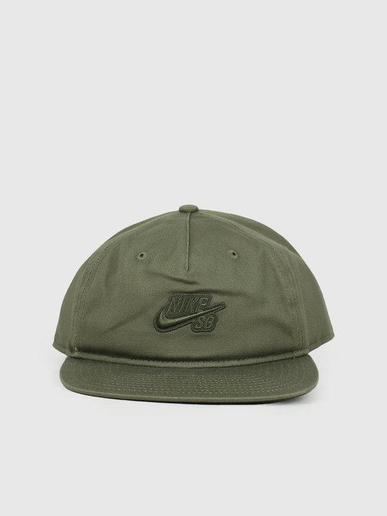 Nike U Nk Cap Pro Medium Olive Sequoia Medium Olive CI4460-222