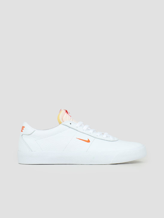 Nike SB Zoom Bruin White Team Orange White Gum Light Brown AQ7941-101