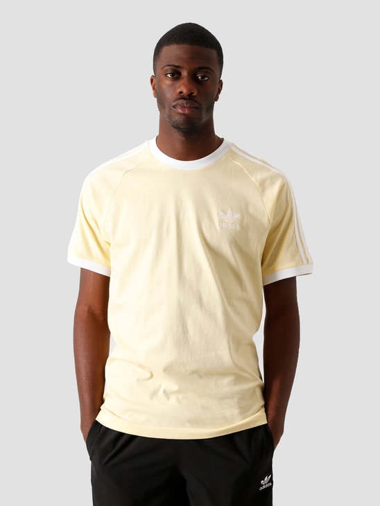 adidas 3-Stripes T-Shirt Easy Yellow FM3777