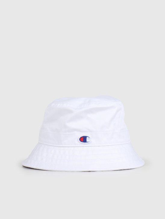 Champion Bucket Cap White White WHT 804816-WW001
