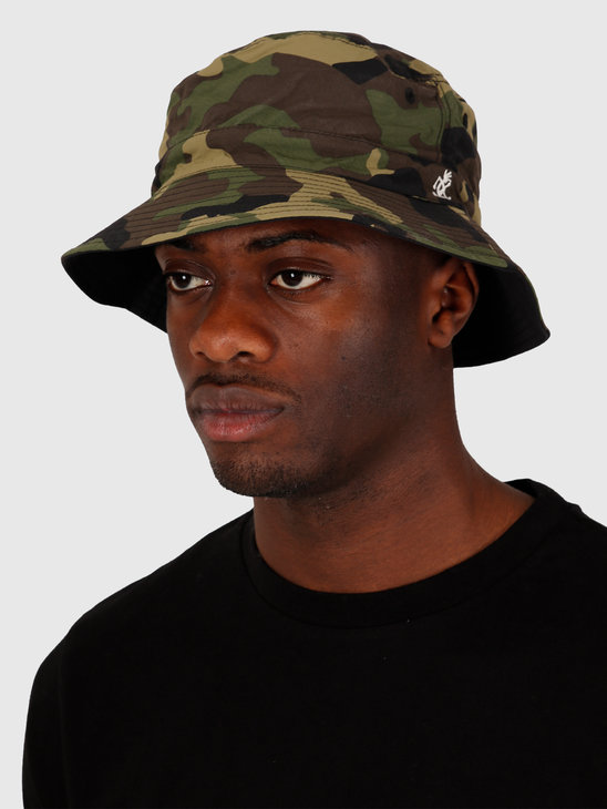 Gramicci Shell Reversible Hat Camo Black GAC-20S042