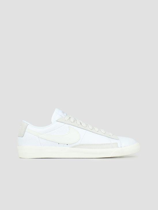 Nike Blazer Low Leather White Sail Platinum Tint CW7585-100