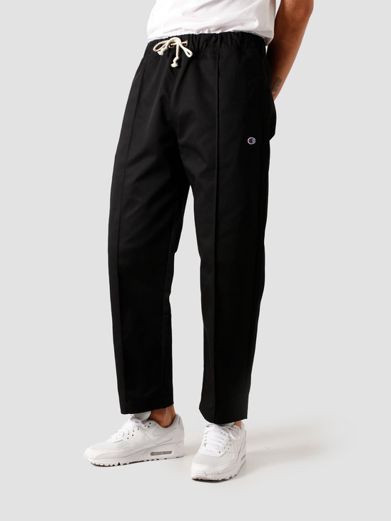 Champion Straight Hem Pants Black NBK 213607-KK001