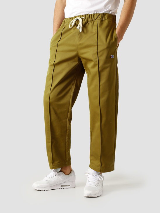 Champion Straight Hem Pants Green LZD 213607-GS551