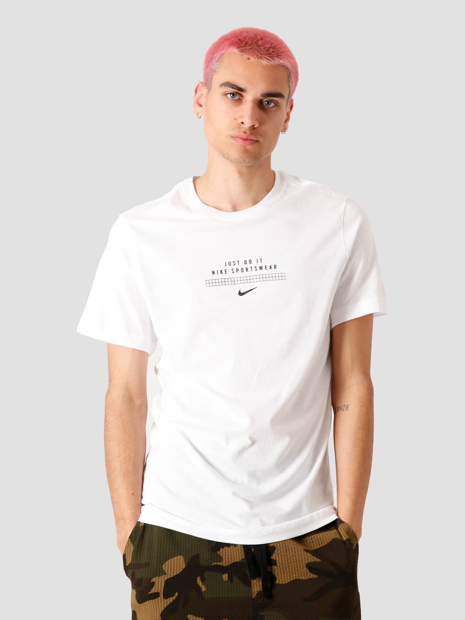 Nike Nike NSW Dna T-Shirt White Black CW2373-100