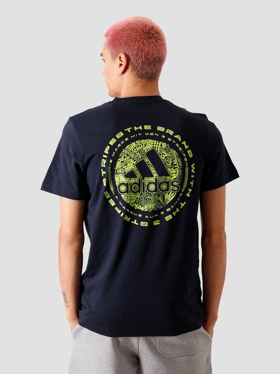 adidas Doodle Emblem T-Shirt Legend Ink FN1754