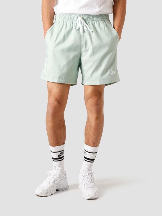Nike NSW Sce Short Woven Flow Pistachio Frost White AR2382-321