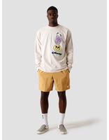 Obey Obey Acid Crash T-Shirt Cream 167102328 CRM