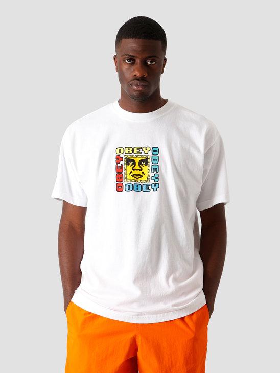 Obey Deviant Device T-Shirt White 166912290 WHT