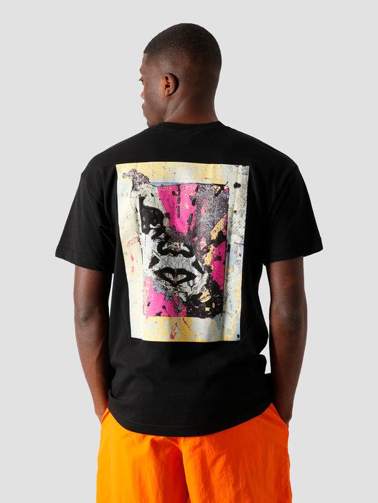 Obey Enhanced Disintegration T-Shirt Black 167292304 BLK