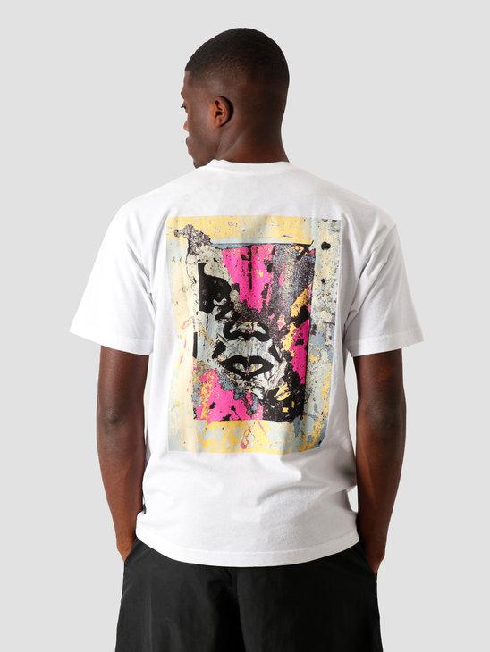 Obey Enhanced Disintegration T-Shirt White 167292304 WHT