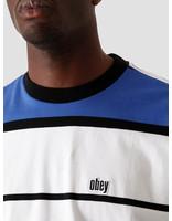 Obey Obey Mercy T-Shirt SS Blue Multi 131080262 BMU