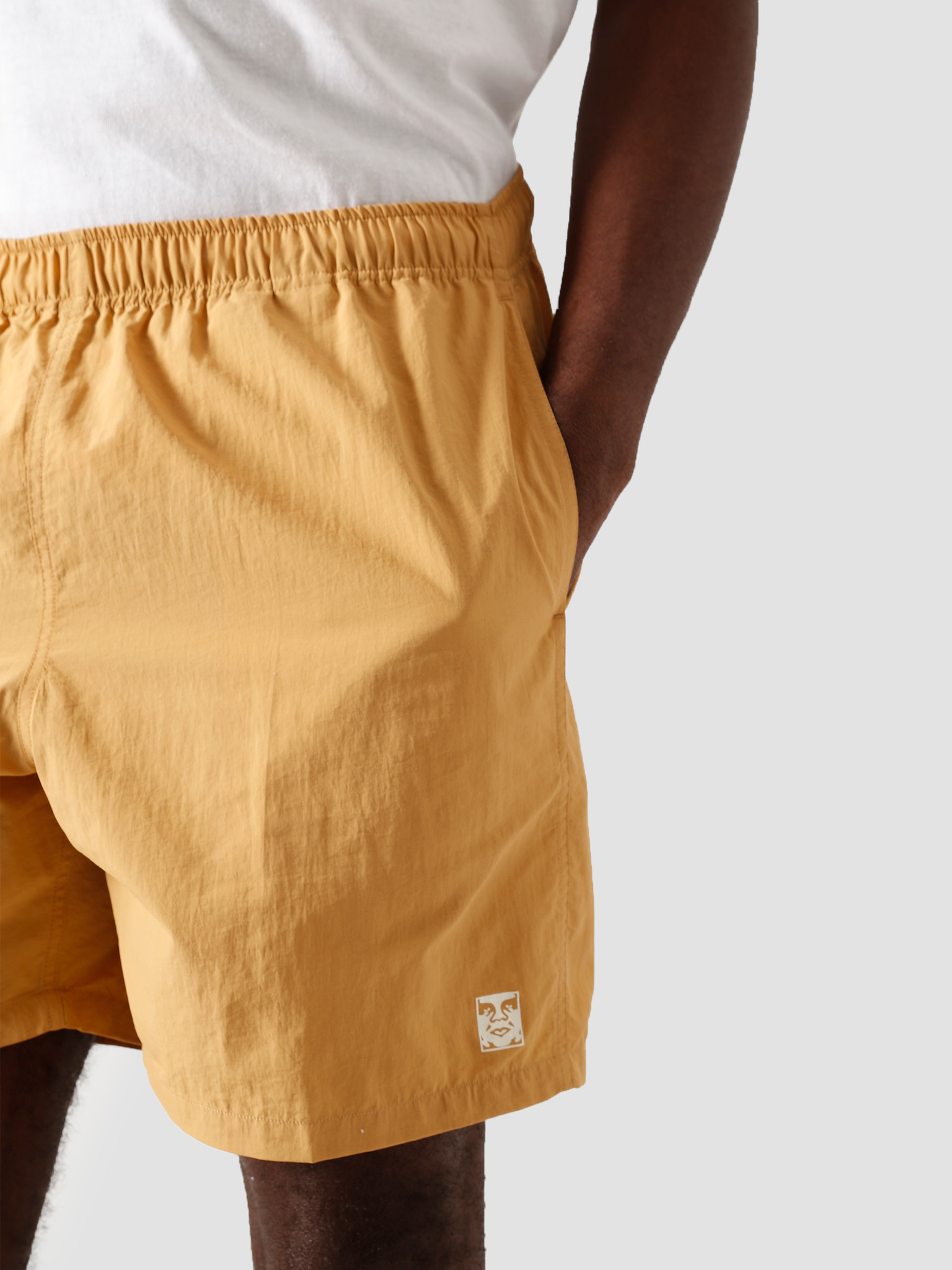 Obey Obey Easy Relaxed Short Almond 172120051 ALM