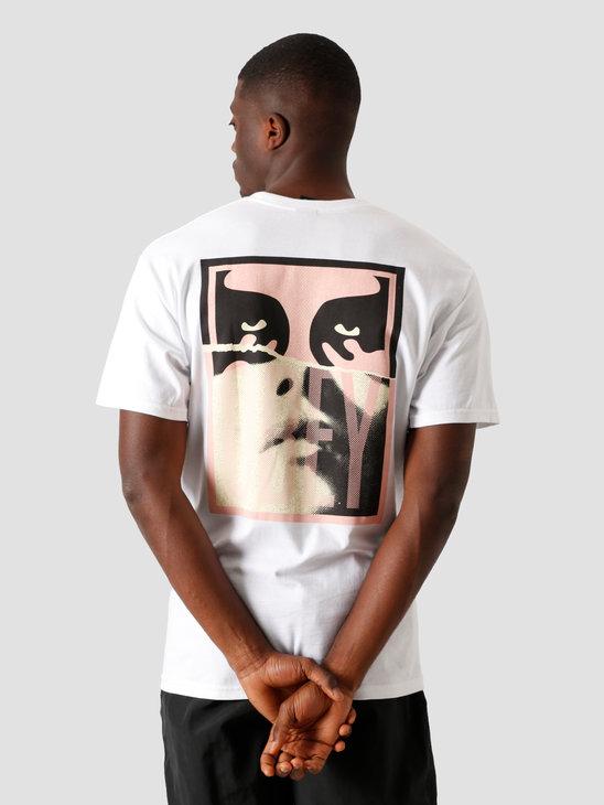 Obey Noir Woman Icon 2 T-Shirt White 163082330 WHT