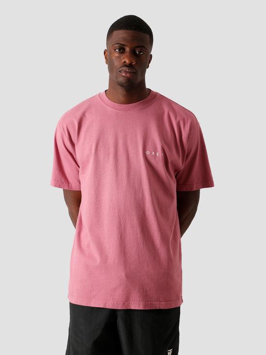Obey Novel Obey 3 T-Shirt Cassis 166911838 CAS