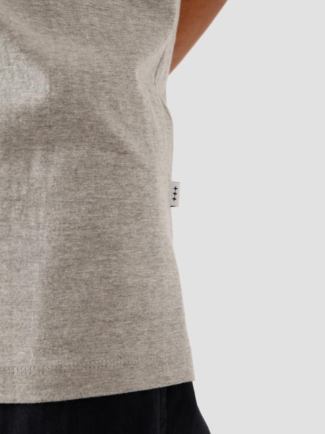 Quality Blanks Quality Blanks 2-Pack QB01 T-Shirt Grey