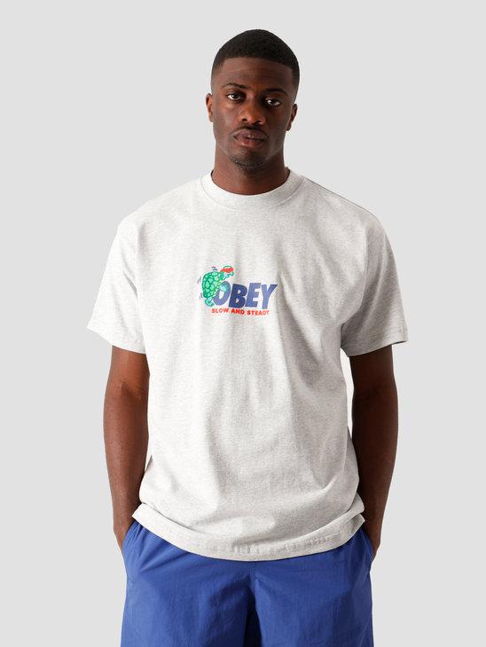 Obey Slow & Steady T-Shirt Heather 166912320 HEA