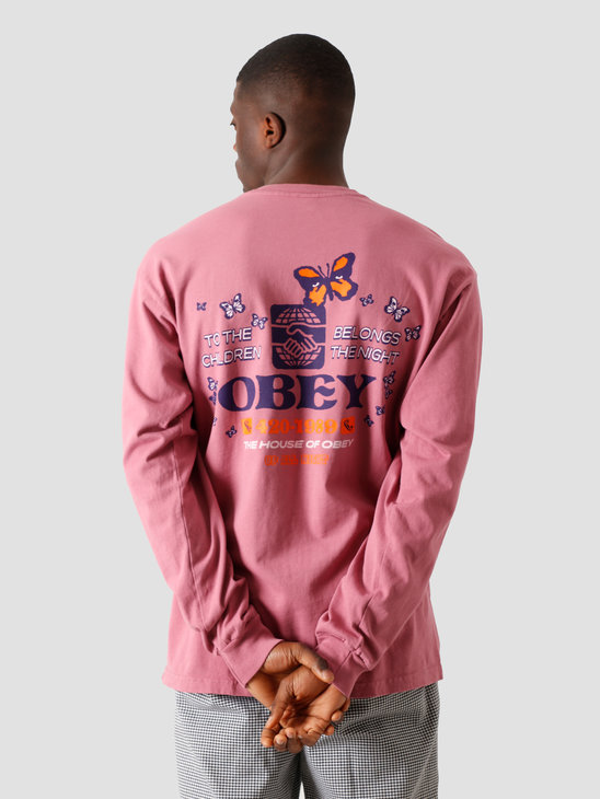 Obey To The Children T-Shirt Cassis 167102314 CAS
