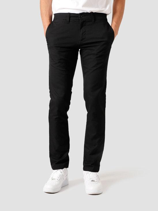 Carhartt WIP Sid Pant Black Rinsed I003367-8902