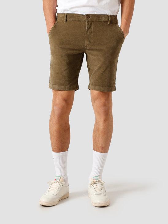 Kronstadt Hector Soft Corduroy Shorts Moos KS2815
