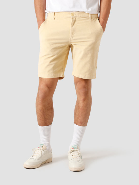 Kronstadt Hector Soft Corduroy Shorts Off White KS2815