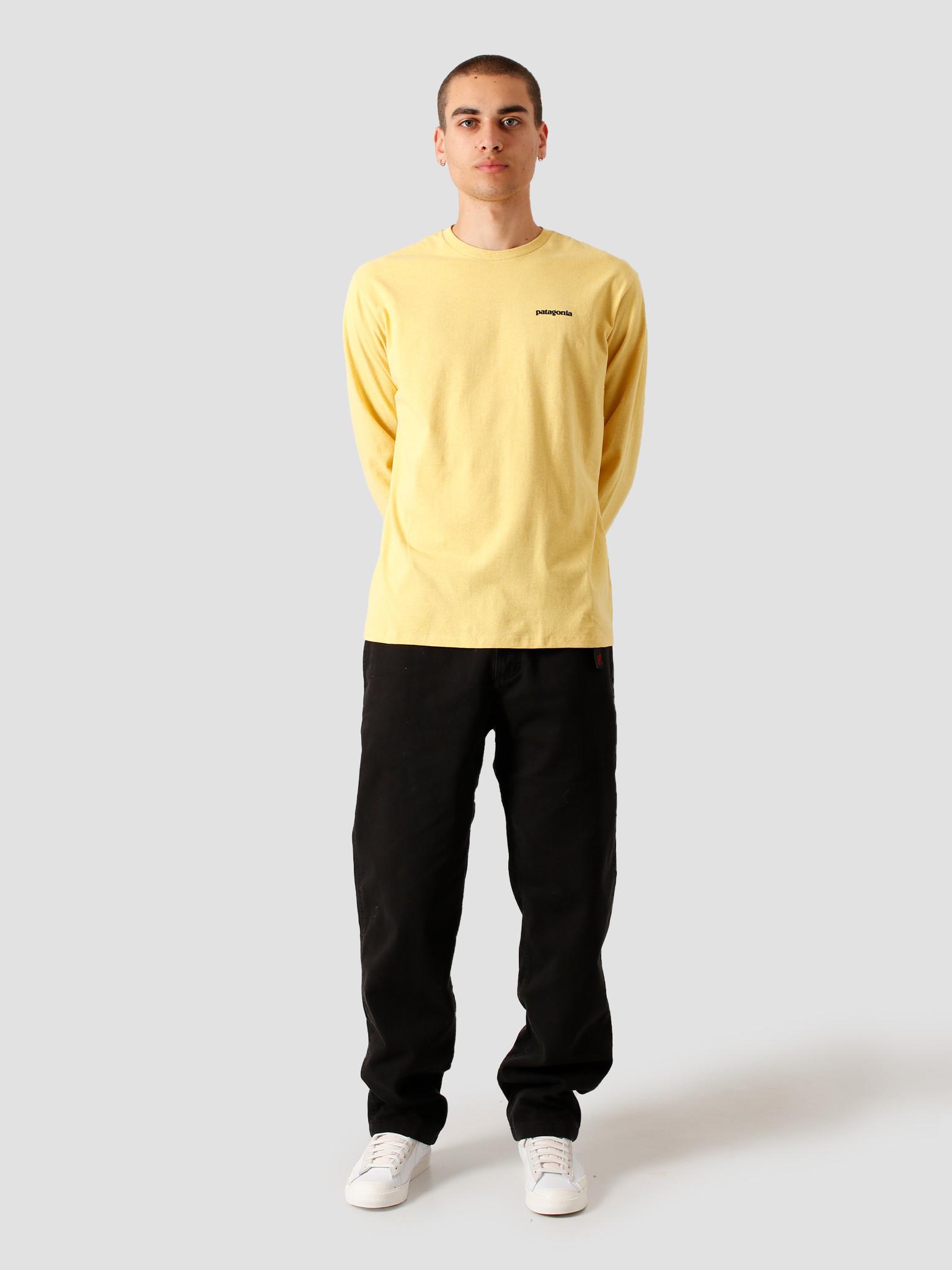 Patagonia Patagonia M's Longsleeve P-6 Logo Responsibili T-Shirt Surfboard Yellow 38518