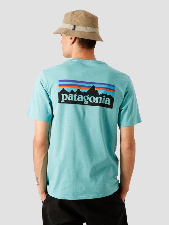 Patagonia M's P-6 Logo Organic T-Shirt Light Beryl Green 38535