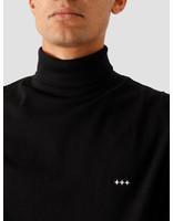 Quality Blanks Quality Blanks QB08 Rollneck Longsleeve Black