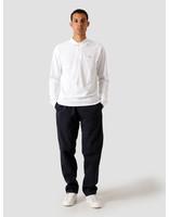 Quality Blanks Quality Blanks QB51 Longsleeve Polo White