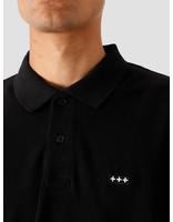 Quality Blanks Quality Blanks QB51 Longsleeve Polo Black
