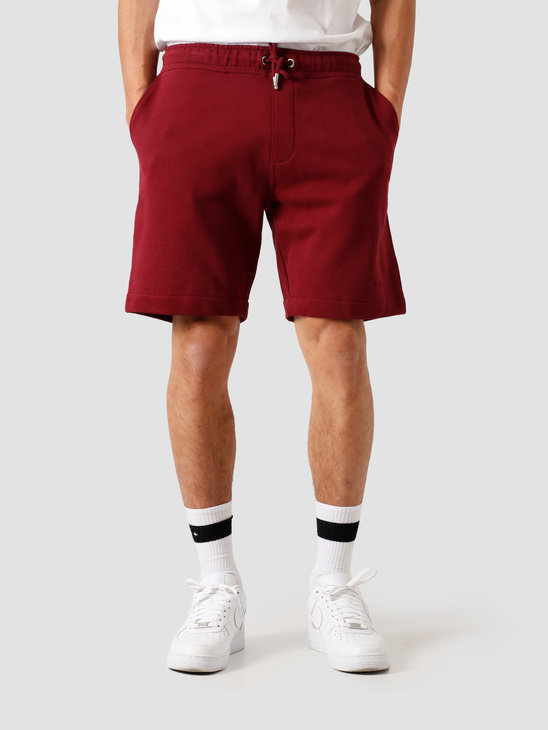 Quality Blanks QB30 Sweat Short Burgundy Red