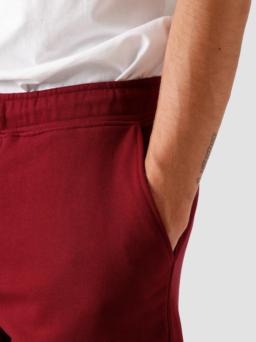 Quality Blanks Quality Blanks QB30 Sweat Short Burgundy Red